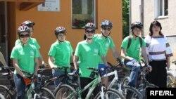 Учасники велотуру за програмою «ВелоКраїна»