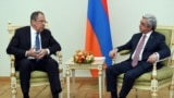 Lavrov Sarkisianla görüşür, Yerevan 22 aprel