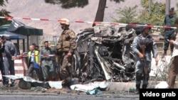 یک انفجار در کابل در سال گذشته