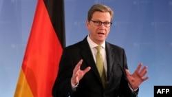 Министр иностранных дел Германии Гидо Вестервелле. Иллюстративное фото.