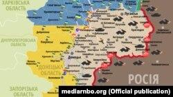 Ситуація в зоні бойових дій на Донбасі, 24 лютого 2018 року