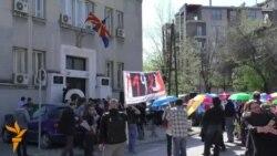 Стотина културни работници на протест пред ресорното министерство