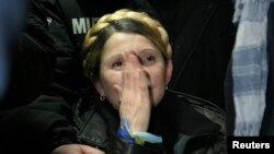 PHOTO GALLERY: Yulia Tymoshenko's Release From A Prison Hospital