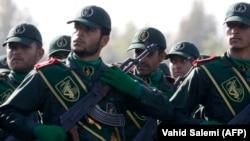 Припадници на иранските сили. Архивска фотографија.