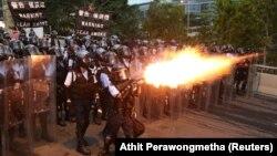 Столкновения в Гонконге, 12 июня 2019 года