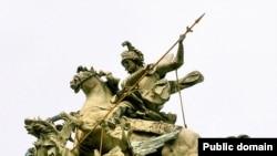 Скульптуру Іоана Георгія Пінзеля «Святий Юрій Змієборець»