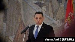 Ministri i Mbrojtjes i Serbisë, Aleksandar Vulin.