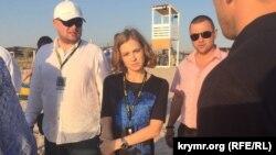 Наталья Поклонская на фестивале «Extreme Крым 2017». Оленевка, 22 июля 2017 года