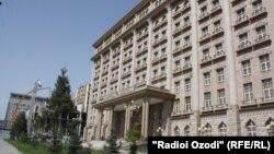 Бинои Вазорати корҳои хориҷии Тоҷикистон