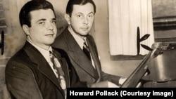 Джон Латош (слева) и Вернон Дюк. Фото предоставлено Ховардом Поллаком