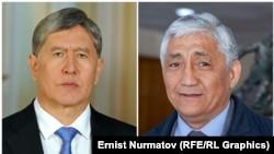 Алмазбек Атамбаев и Сагынбек Абдрахманов.