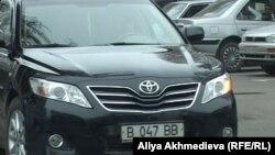 Toyota көлігі. (Көрнекі сурет)