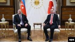 Турция -- Встреча президентов Турции и Азербайджана в Анкаре, 15 марта 2016 г.