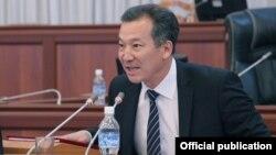Kyrgyzstan's new ombudsman Bakyt Amanbaev