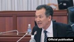 Акыйкатчы Бакыт Аманбаев парламентте.