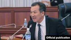 Қирғизистоннинг янги омбудсмени Бақит Аманбаев.