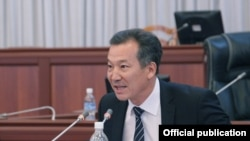Қирғизистон янги омбудсани Бақит Аманбаев.