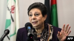 "Palestine Liberation Organization official Hanan Ashrawi says countries opposed to the Palestinian resolution are on the ""wrong side of morality."""