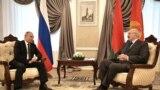 Уладзімір Пуцін і Аляксандар Лукашэнка, Магілёў, 12 кастрычніка 2018