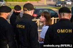 Пікет салідарнасьці ў Горадні, 19 чэрвеня 2020