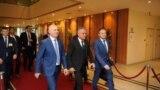 Lideri ai Partidului Democrat din Moldova, la Bruxelles.