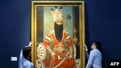 فتحعلی شاه در موزهای در لندن