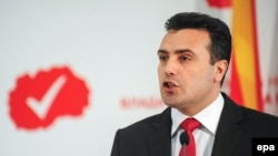 Macedonian opposition leader Zoran Zaev