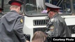 Людмила Харламова 13 сентября была задержана сотрудниками УБОП города Оренбурга