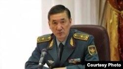 Заместитель министра обороны Багдат Майкеев.