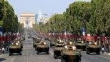 Parada militară de Ziua Națională a Franţei. Paris, 14 iulie 2018