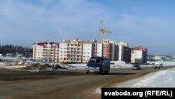 Забудова новага мікрараёна на ўскрайку Астраўца для будаўнікоў і ў далейшым спэцыялістаў атамнай станцыі