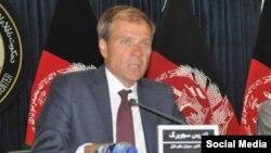 اندریس سجوبرگ سفیر سویدن در کابل