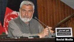 نصیر احمد درانی وزیر احیا و انکشاف دهات افغانستان