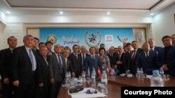 Ташкенттеги конгресс катышуучулары
