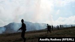 Azərbaycan ordusu təlimlərdə, noyabr 2016