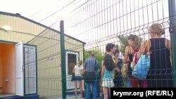 Админграница между Крымом и Украиной. Архивное фото
