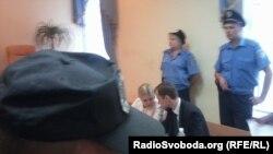 Юлія Тимошенко під час судового засідання у Києві, 22 серпня 2011 року