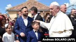 Папа римский Франциск в Румынии. Блаж, 2 июня 2019 года.