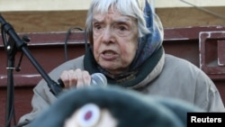 Russian rights activist Lyudmila Alekseyeva