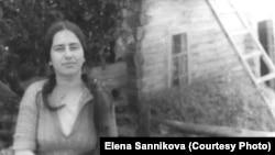 Елена Санникова, Кривошеино, Томская область, 1985 год