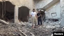 Разрушенный дом в провинции Хомс