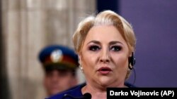 Viorica Dăncilă, premierul român