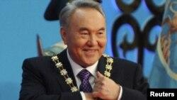 Назарбаев Астанадагы акыркы инагурацияда. 8-апрель, 2011-жыл.