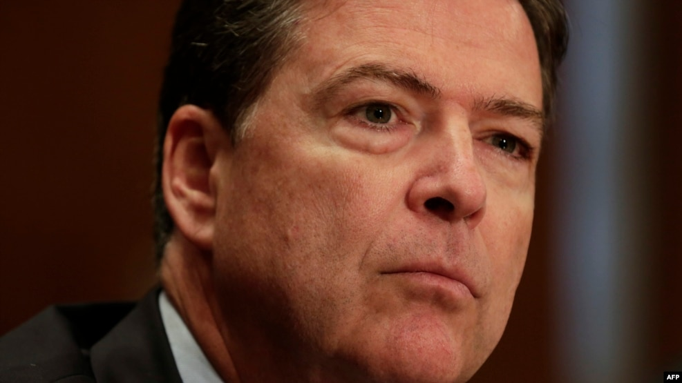 U.S. Democrats are blasting FBI Director James Comey for refusing to join other top government officials in naming Russia as the hacking power behind e-mail leaks.