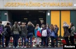 В катастрофе погибли 16 учеников гимназии Джозефа-Кёнига из немецкого города Хальтерн-ам-Зе