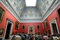 Inside the Hermitage Museum in St Petersburg (epa)