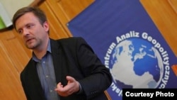 Матеуш Пискорский, лидер незарегистрированной в Польше партии «Смена»
