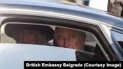 Принц Чарльз и Камилла в Белграде