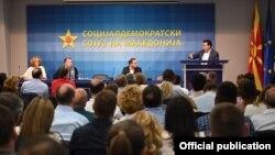 Скопје- седница на централниот одбор на СДСМ, 26.05.2019
