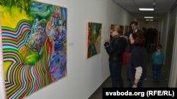 Наведнікі выставы «Прага колеру» ў галерэі TUT.by